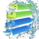 Wasserspritzpistolen mit Tiersymbolen – 4 Stück (joylink)