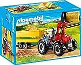 Riesentraktor mit Anhänger und viel Zubehör (Playmobil Country)