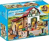 Ponyhof mit vielen Tieren und Heuboden (Playmobil)
