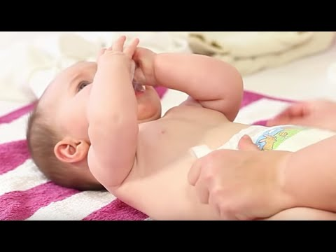 Baby richtig wickeln