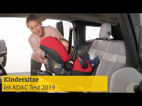 Kindersitztest Herbst | ADAC 2019