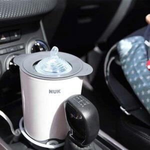 NUK Babykostwärmer fürs Auto in Mittelkonsole