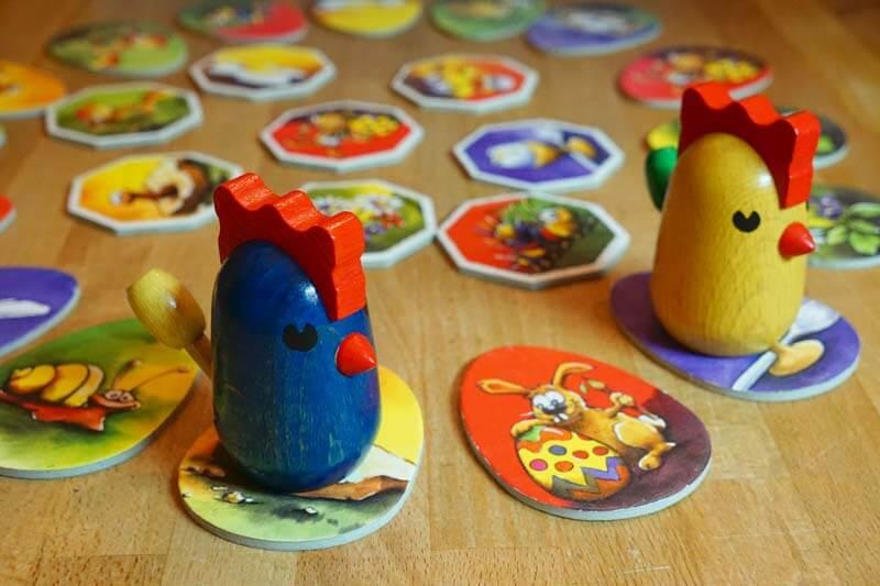 das tolle Kinderspiel Zicke Zacke Hühnerkacke
