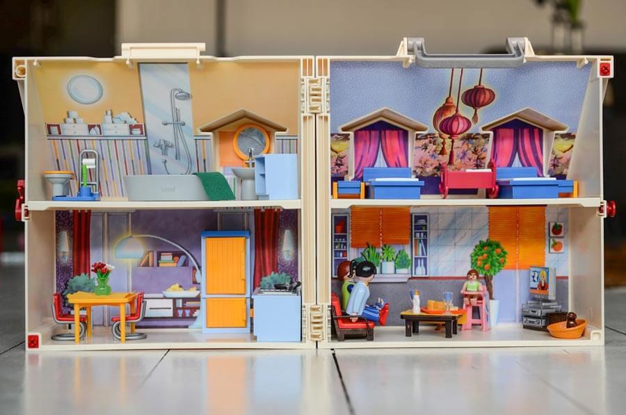 Playmobil-Haus für Kinder
