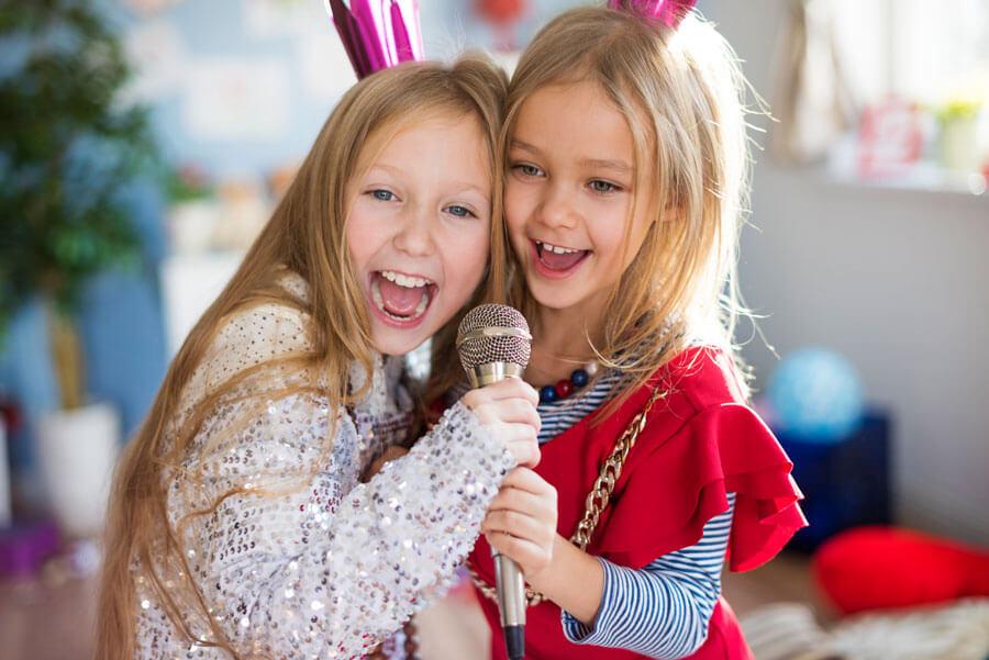 Mikrofon für Kinder als Spielzeug