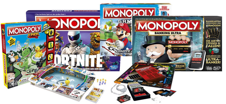 Monopoly Versionen