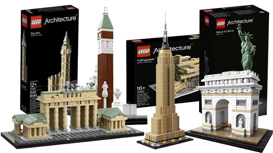 LEGO Architecture Sets im Überblick