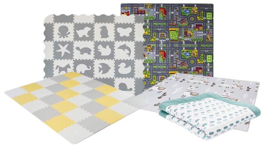 Bunte Spielmatten für Babys und Kinder